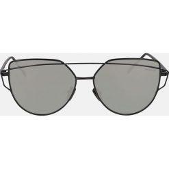 Czarne okulary przeciwsłoneczne. Okulary przeciwsłoneczne damskie marki QUECHUA. Za 369.00 zł.