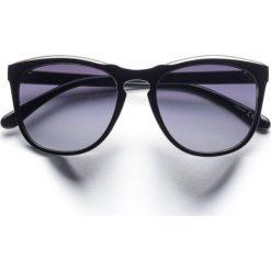 Okulary przeciwsłoneczne bonprix czarny. Okulary przeciwsłoneczne damskie marki WED'ZE. Za 27.99 zł.