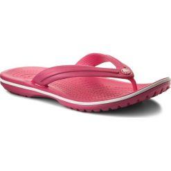 Japonki CROCS - Crocband Flip 11033  Paradise Pink/White. Czerwone klapki damskie Crocs, z tworzywa sztucznego. Za 119.00 zł.