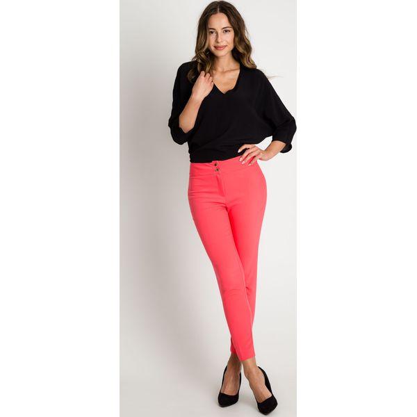 cc0dea9d Dopasowane czerwone spodnie w kant BIALCON