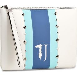 Torebka TRUSSARDI JEANS - Blondie 75B00213  W001. Białe torebki do ręki damskie TRUSSARDI JEANS, z jeansu. W wyprzedaży za 299.00 zł.