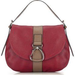 Torebka damska 87-4E-003-3. Czerwone torebki do ręki damskie Wittchen, w paski. Za 979.00 zł.