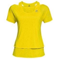 Odlo Koszulka s/s 2-in-1 HOLOGRAM żółta r. S. T-shirty damskie Odlo. Za 169.93 zł.
