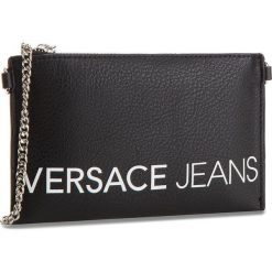 Torebka VERSACE JEANS - E3VSBPBB 70709 899. Czarne torebki do ręki damskie Versace Jeans, z jeansu. W wyprzedaży za 259.00 zł.