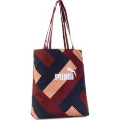 Torebka PUMA - Wnn Core Shopper 075398 03 Pomegranate Graphic. Czerwone torebki shopper damskie Puma, z materiału. Za 99.00 zł.