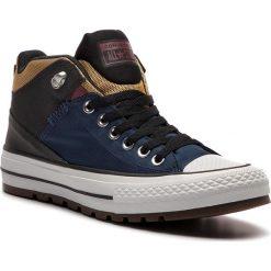 Trampki CONVERSE - Ctas Street Boot Hi 161471C Navy/Black/University Gold. Niebieskie trampki męskie Converse, z gumy. W wyprzedaży za 259.00 zł.