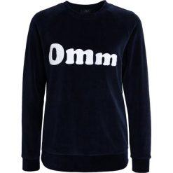 YUJ VELVET OMM Bluza dark blue. Bluzy sportowe damskie YUJ, z bawełny. Za 499.00 zł.
