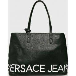 Versace Jeans - Torebka. Czarne torby na ramię damskie Versace Jeans, z jeansu. Za 699.90 zł.