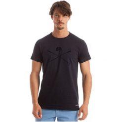 Polo Club C.H..A T-Shirt Męski L Ciemnoniebieski. Brązowe koszulki polo męskie Polo Club C.H..A, z bawełny. W wyprzedaży za 119.00 zł.
