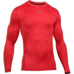 Under Armour Sportowa Koszulka Cg Armour Twist Crew Red Graphite L. Czerwone koszulki sportowe męskie Under Armour, z długim rękawem. W wyprzedaży za 179.00 zł.