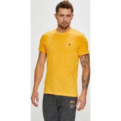U.S. Polo - T-shirt. Pomarańczowe koszulki polo męskie U.S. Polo, z bawełny. W wyprzedaży za 159.90 zł.