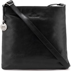 Torebka damska 35-4-053-1. Czarne torebki do ręki damskie Wittchen, w paski. Za 899.00 zł.