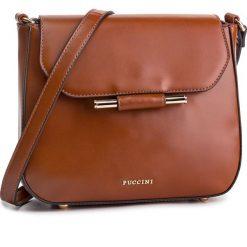 Torebka PUCCINI - BT28595 Brąz 2. Brązowe torebki do ręki damskie Puccini, ze skóry ekologicznej. W wyprzedaży za 167.00 zł.