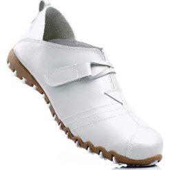 Półbuty wsuwane skórzane bonprix biały. Półbuty damskie marki Nike. Za 119.99 zł.