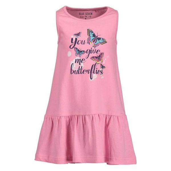 261eb4c37c Blue Seven Sukienka Dziewczęca Bez Rękawów 98 Różowa - Sukienki dla ...