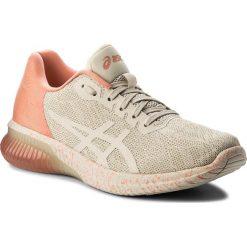 Buty ASICS - Gel-Kenun Sp T8A5N  Cherry/Blossom/Birch 0606. Brązowe obuwie sportowe damskie Asics, z materiału. W wyprzedaży za 399.00 zł.