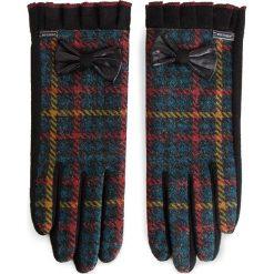 Rękawiczki Damskie WITTCHEN - 47-6-568-1 Czarny Kolorowy. Rękawiczki damskie marki B'TWIN. W wyprzedaży za 109.00 zł.