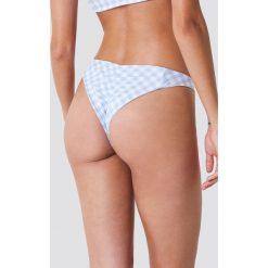Hot Anatomy Dół bikini w kratkę z marszczeniem - Black,White,Multicolor. Białe bikini damskie Hot Anatomy, w kratkę. Za 80.95 zł.