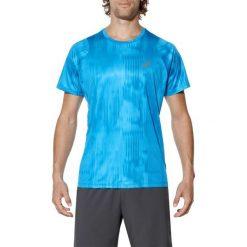 T-shirt Asics FuzeX Printed Tee 129928-2068. Niebieskie t-shirty męskie Asics, z materiału. W wyprzedaży za 119.99 zł.