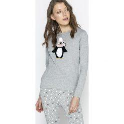Tally Weijl - Bluzka piżamowa STSCOETTY. Piżamy damskie TALLY WEIJL, z nadrukiem, z bawełny. W wyprzedaży za 49.90 zł.