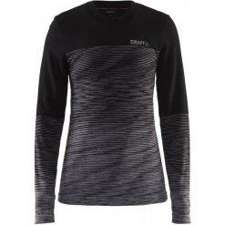 Craft Koszulka Termoaktywna Z Długim Rękawem Wool Comfort Black Xs. Czarne koszulki sportowe damskie Craft, ze skóry, z długim rękawem. W wyprzedaży za 189.00 zł.