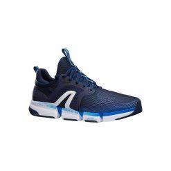 Buty męskie do szybkiego marszu PW 590 Xtense w kolorze granatowym. Niebieskie buty sportowe męskie NEWFEEL, z gumy. Za 219.99 zł.
