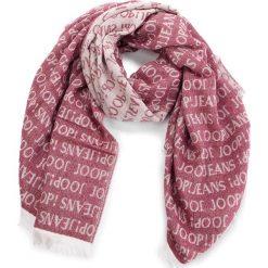 Szal JOOP! - JEANS Lambert 10006261  613. Czerwone szaliki i chusty damskie JOOP!, z jeansu. Za 349.00 zł.