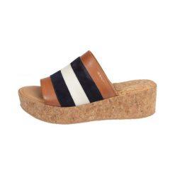 Gant Sandały Damskie Judith 40 Brązowe. Brązowe sandały damskie GANT, ze skóry. W wyprzedaży za 279.00 zł.