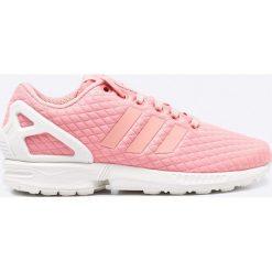 Adidas Originals - Buty ZX Flux. Szare obuwie sportowe damskie adidas Originals, z materiału. W wyprzedaży za 199.90 zł.