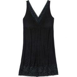 Koszula nocna z wiskozy bonprix czarny. Koszule nocne damskie marki MAKE ME BIO. Za 59.99 zł.