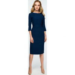 212d191f0 Gładka sukienka z guzikami s119. Sukienki damskie Style. Za 149.00 zł.