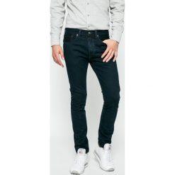 Levi's - Jeansy 501. Brązowe jeansy męskie Levi's. W wyprzedaży za 299.90 zł.