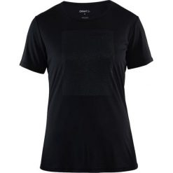 Craft Koszulka damska Prime Logo Tee  Czarna r. M (1904342-9900). T-shirty damskie Craft. Za 82.80 zł.