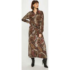 Answear - Sukienka NOMAD. Szare sukienki damskie ANSWEAR, w paski, z wiskozy, casualowe. Za 239.90 zł.