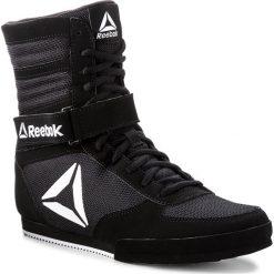 Buty Reebok - Boxing Boot-Buck CN4942 Black/White. Czarne buty sportowe męskie Reebok, z materiału. W wyprzedaży za 279.00 zł.