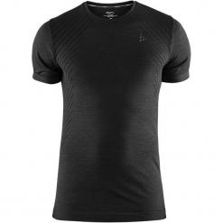 Craft Koszulka Sportowa Męska Fuseknit Comfort Ss Black M. Czarne koszulki sportowe męskie Craft, na zimę, z krótkim rękawem. Za 119.00 zł.