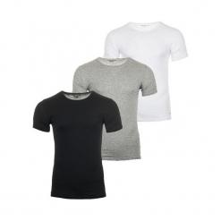 Tommy Hilfiger 3 Pack T-Shirt Męski M Wielokolorowy. Szare t-shirty męskie Tommy Hilfiger. Za 189.00 zł.