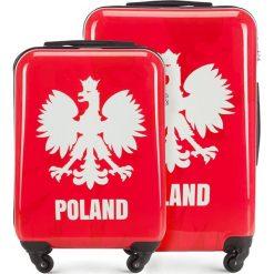 Zestaw walizek 56-3A-24S-WR. Białe walizki damskie Wittchen, z gumy. Za 518.94 zł.