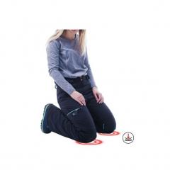 Spodnie snowboardowe i narciarskie SNB PA 500 damskie. Czarne spodnie materiałowe damskie WED'ZE, na zimę, z materiału. Za 299.99 zł.
