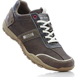 Buty sznurowane Mustang bonprix wielbłądzia wełna. Brązowe buty sportowe męskie bonprix, z wełny. Za 169.99 zł.