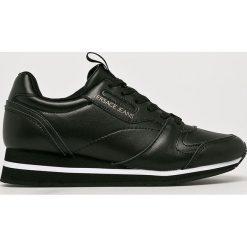 Versace Jeans - Buty. Czarne obuwie sportowe damskie Versace Jeans, z gumy. W wyprzedaży za 499.90 zł.