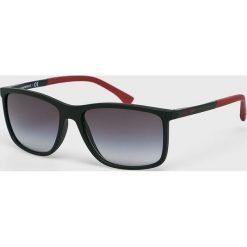 Emporio Armani - Okulary. Brązowe okulary przeciwsłoneczne męskie Emporio Armani. Za 559.90 zł.
