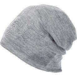 Czapka bonprix szary melanż. Szare czapki i kapelusze damskie bonprix. Za 34.99 zł.