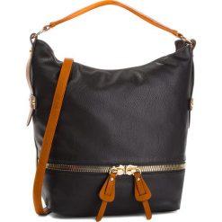 Torebka JENNY FAIRY - RC13127 Black. Czarne torebki do ręki damskie Jenny Fairy, ze skóry ekologicznej. Za 119.99 zł.