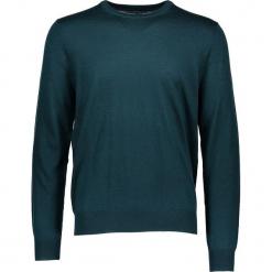 Sweter w kolorze zielonym. Zielone swetry przez głowę męskie Ben Sherman, z wełny, z okrągłym kołnierzem. W wyprzedaży za 195.95 zł.