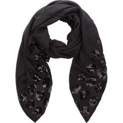 Szal TWINSET - Sciarpa AA8P13 Nero 00006. Czarne szaliki i chusty damskie Twinset, z materiału. W wyprzedaży za 309.00 zł.