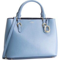 Torebka LAUREN RALPH LAUREN - Bennington 431693831014 Blu Mst/Na. Niebieskie torebki do ręki damskie Lauren Ralph Lauren, ze skóry. Za 1,299.00 zł.