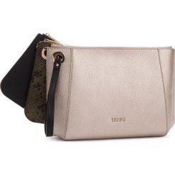 Torebka LIU JO - Pouch Tris Duomo Py N68025 E0060  Nero 22222. Czarne torebki do ręki damskie Liu Jo, ze skóry ekologicznej. Za 399.00 zł.