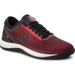 Buty Reebok - R Crossfit Nano 8.0 CN5656 Black/Red/Chalk. Czarne buty sportowe męskie Reebok, z materiału. W wyprzedaży za 379.00 zł.