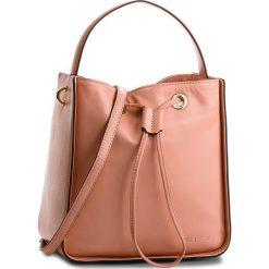 Torebka KAZAR - Axelle 28021-01-05 Pink. Czerwone torebki do ręki damskie Kazar, w paski, ze skóry. W wyprzedaży za 499.00 zł.